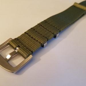 Ocean Dog Black and Blue Seat Belt Watch Strap | Sea Dog Straps