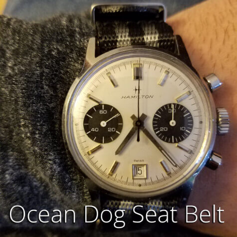 Ocean Dog Seat Belt Watch Strap